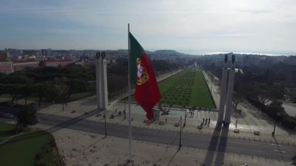 Portugál integetett zászló