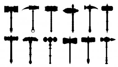 hammer silhouettes