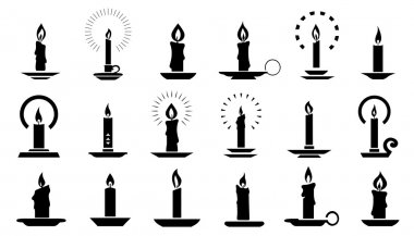 candle2 silhouettes