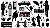 Fotografie England-Silhouetten