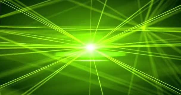 zelené polygonální geometrického povrchu. počítačem generovaný bezešvá smyčka abstraktní pohybu pozadí. 4k