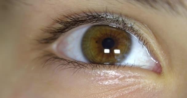 Young eye.