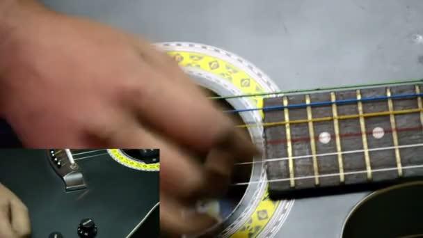 Hlasitosti a tónu ovládání kytary