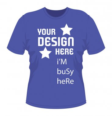 T shirt design with text. vector EPS file fully editable