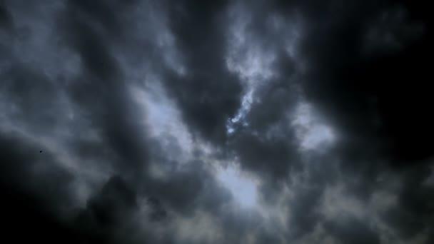 Bouřková mračna, časová prodleva