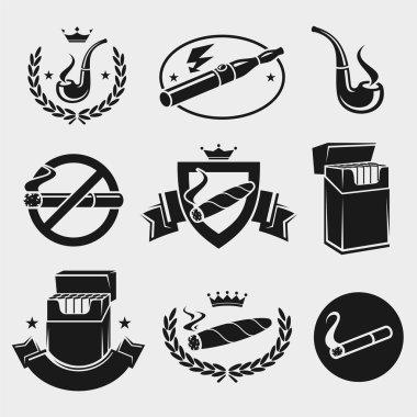 Cigarettes set