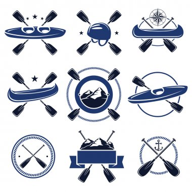 Paddle labels and elements set
