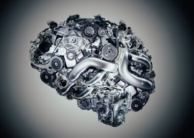 artificial, mechanical and electronic brain