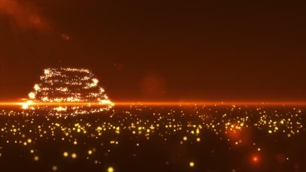 Zlaté vánoční stromeček Ultra Hd
