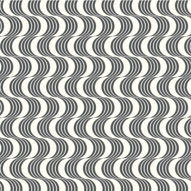 vector seamless pattern geometric with wavy