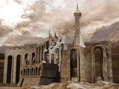 Ruined ancient city
