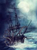 Loď a chapadla