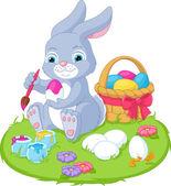 Ilustrace velikonoční králík