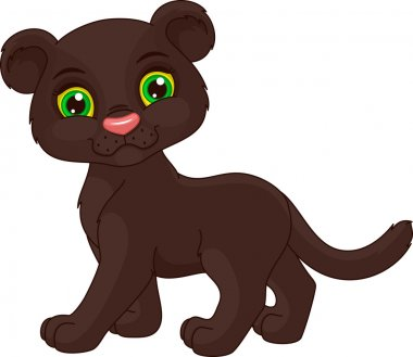 Cute panther