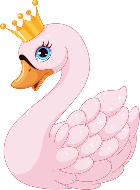 Cute Swan Princess