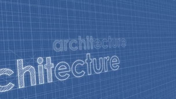 architecture blueprint perspective