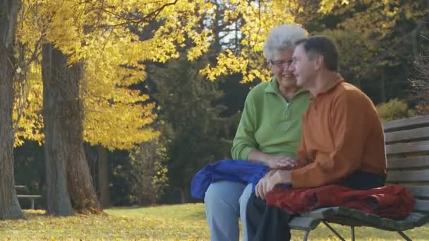 senior couple in park part