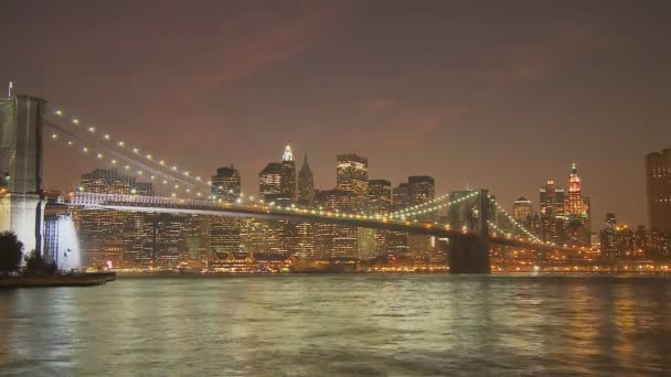 Brooklyn bridge v noci