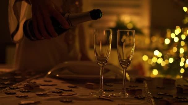 sklenice na víno zblízka