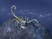 Fotografia rappresentazione simbolica del segno dello Scorpione