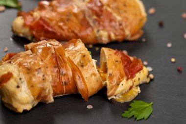 Prosciutto Wrapped Chicken