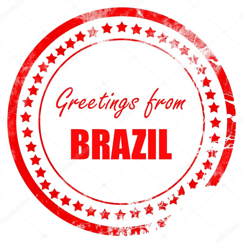 Greetings from brazil stock photo ellandar 103477778 greetings from brazil stock photo m4hsunfo