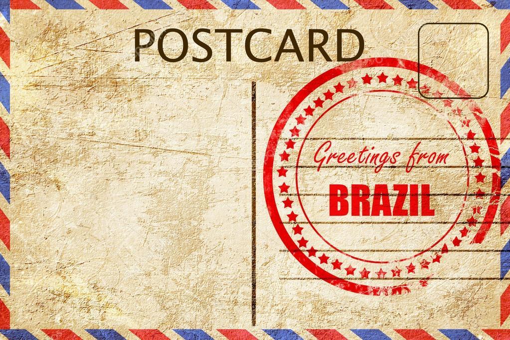Greetings from brazil stock photo ellandar 103497918 greetings from brazil stock photo m4hsunfo