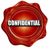 confidential sign background