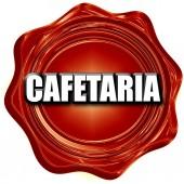 cafetaria sign background