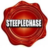 Steeplechase sign background