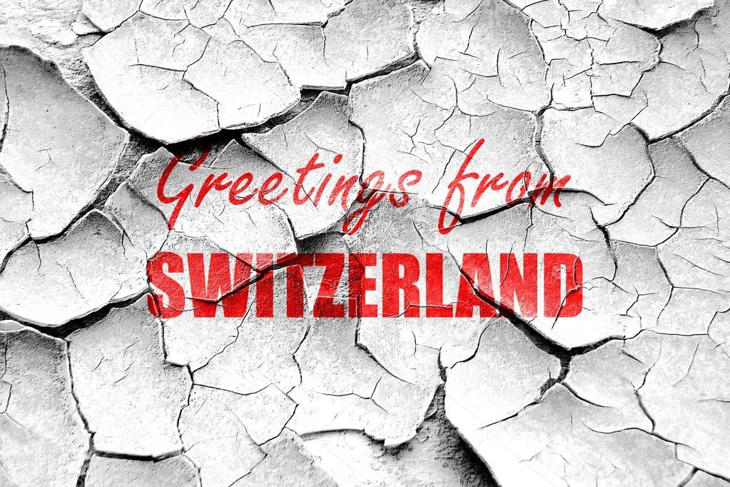 Grunge cracked greetings from switzerland stock photo ellandar grunge cracked greetings from switzerland stock photo m4hsunfo