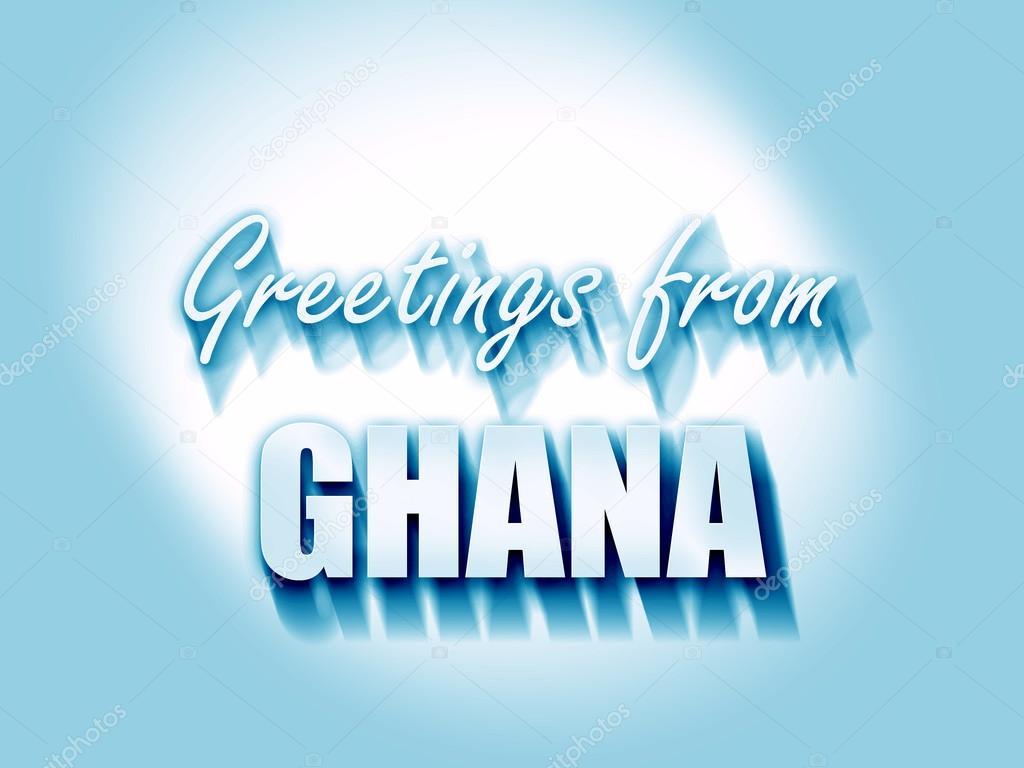 Greetings from ghana stock photo ellandar 105235520 greetings from ghana stock photo m4hsunfo