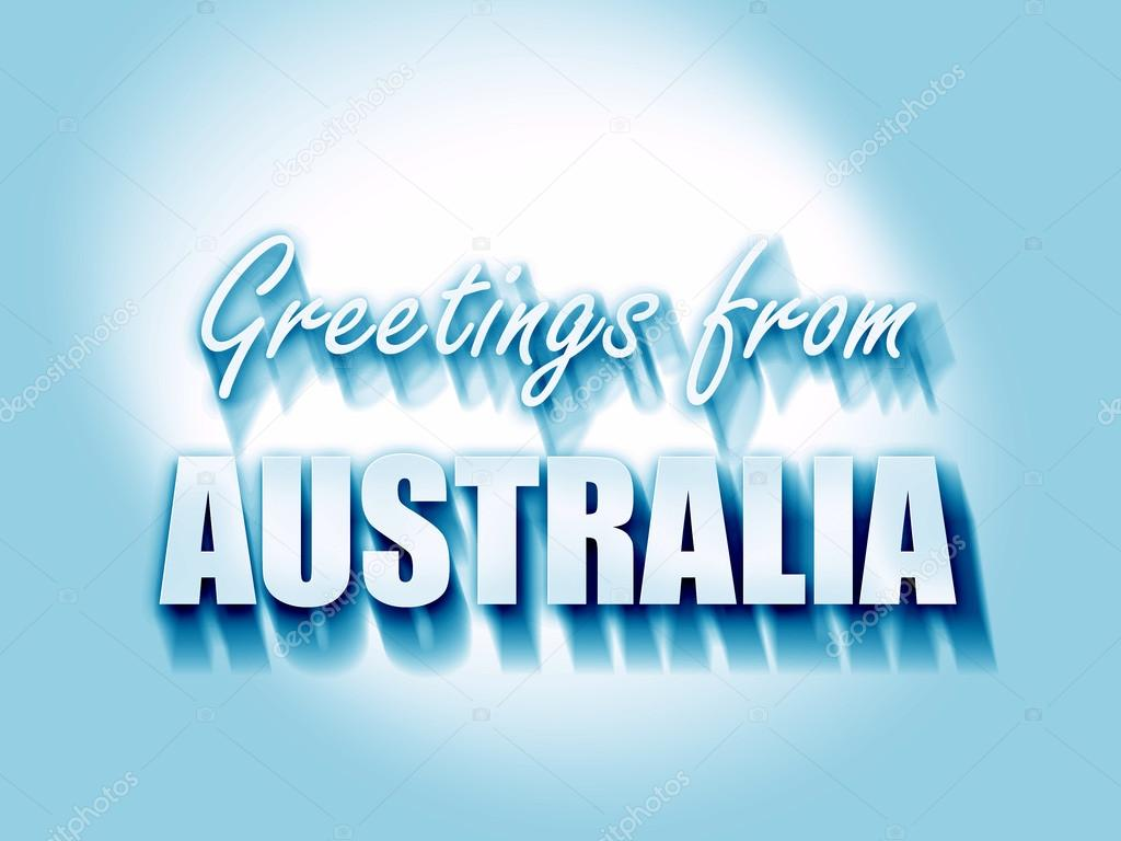 Greetings from australia stock photo ellandar 105236246 greetings from australia stock photo m4hsunfo