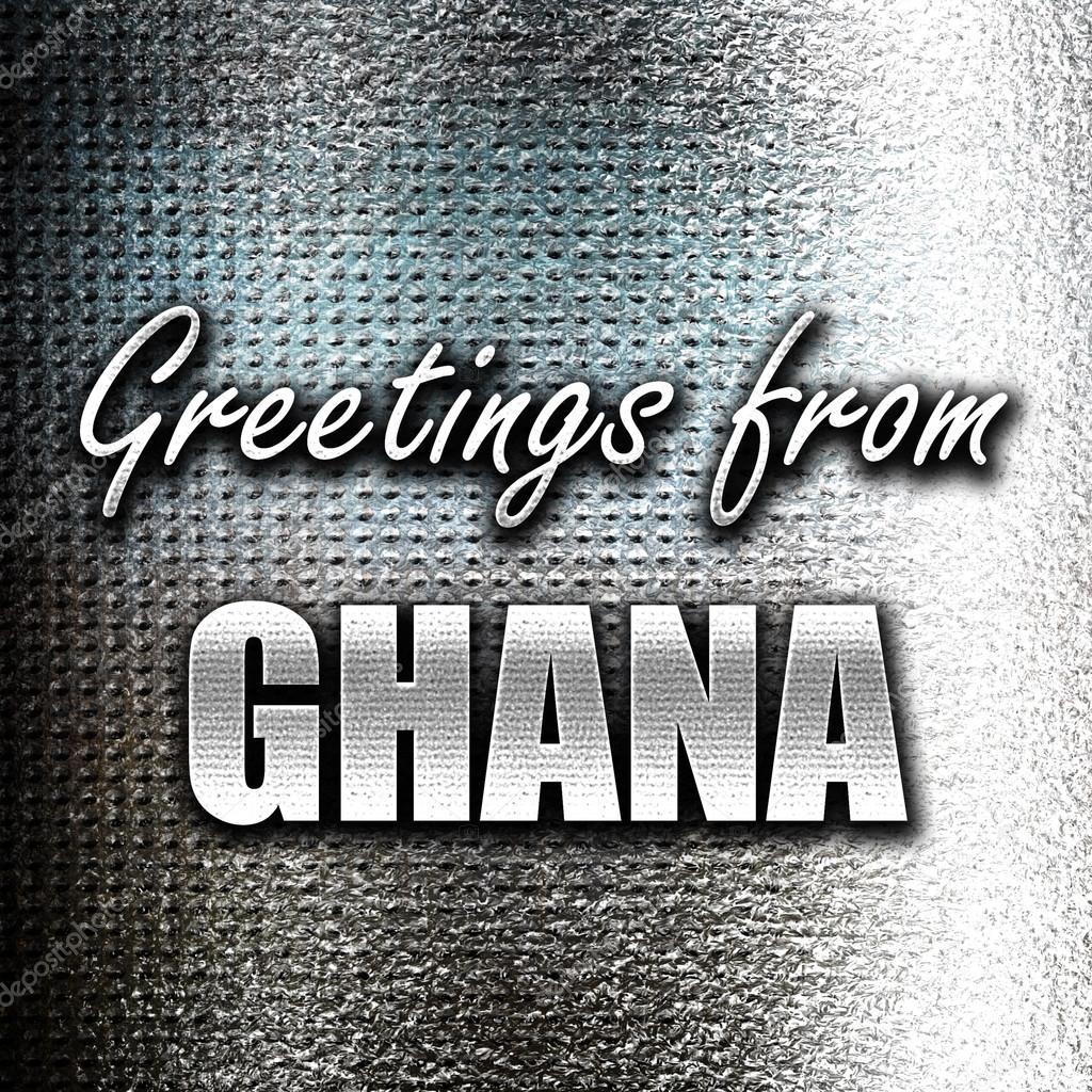 Greetings from ghana stock photo ellandar 105266302 greetings from ghana stock photo m4hsunfo