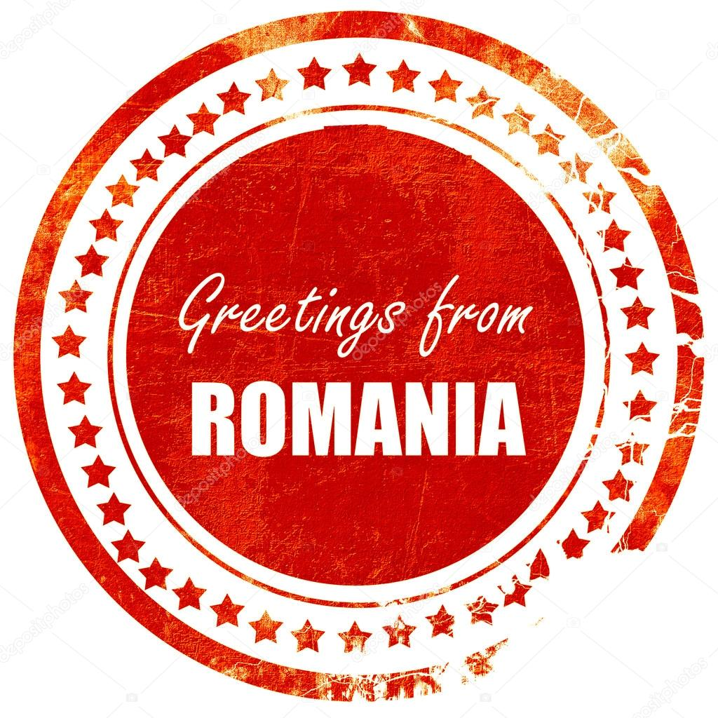 Greetings from romania grunge red rubber stamp on a solid white greetings from romania grunge red rubber stamp on a solid white stock photo m4hsunfo