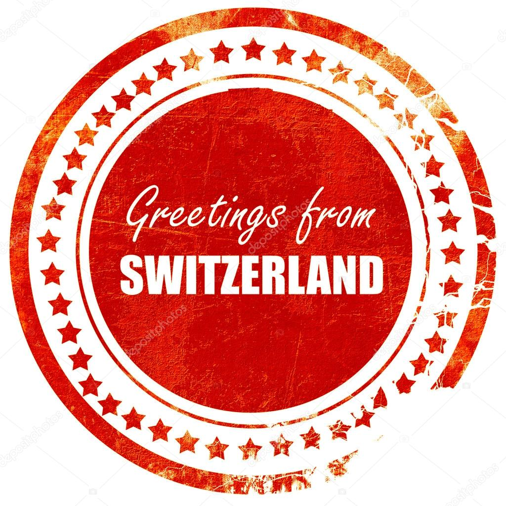 Greetings from switzerland grunge red rubber stamp on a solid w greetings from switzerland grunge red rubber stamp on a solid w stock photo m4hsunfo