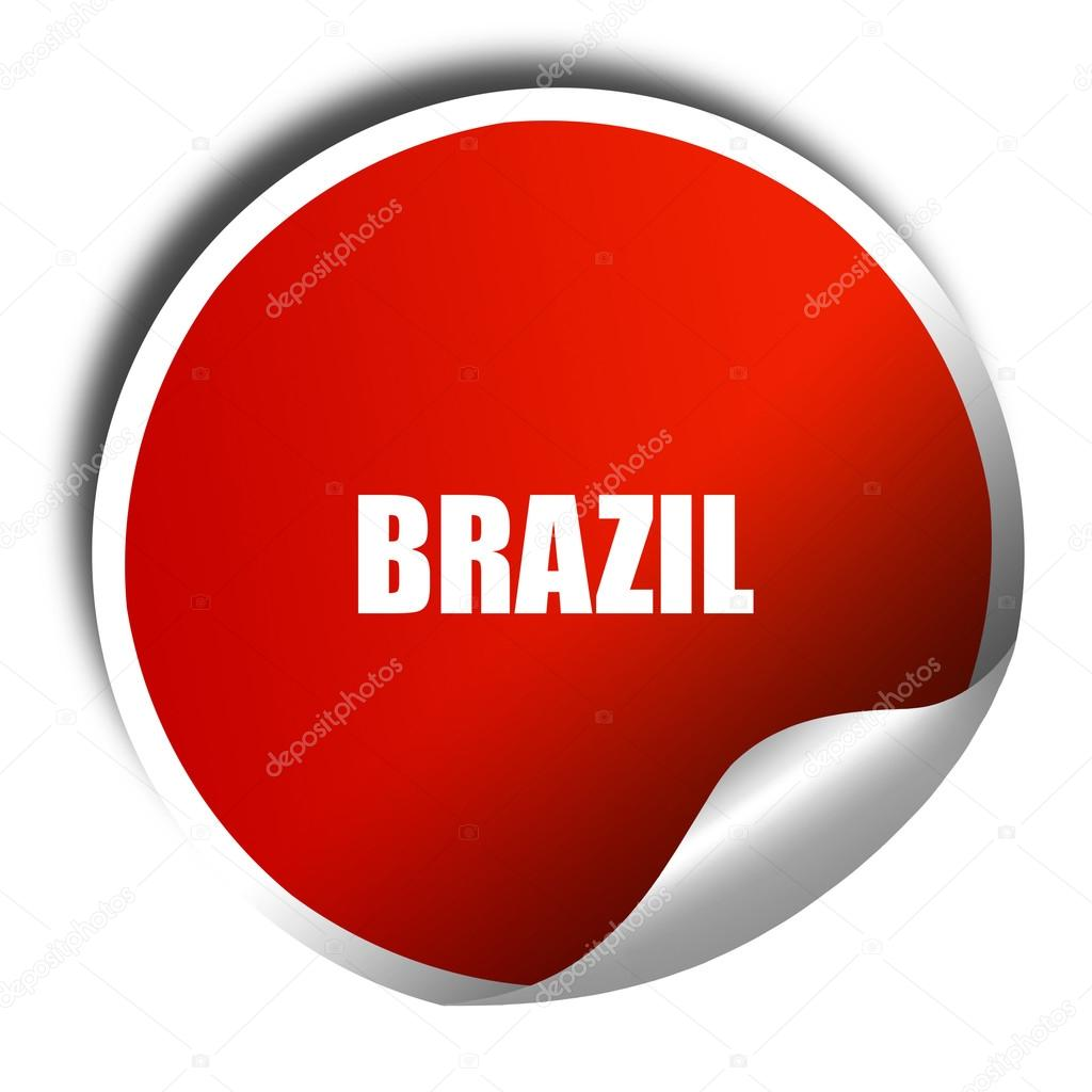 Greetings from brazil 3d rendering red sticker with white text greetings from brazil 3d rendering red sticker with white text stock photo m4hsunfo