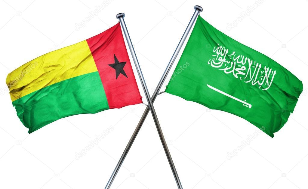サウジアラビアの国旗、3 d レン...