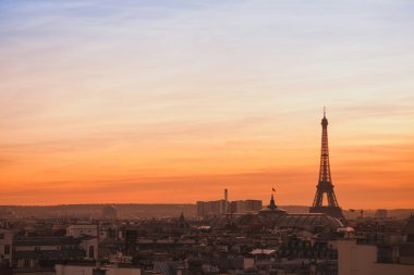 beautiful skyline of Paris