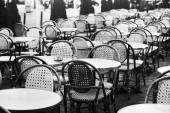 Fotografie ročníku pouliční kavárna v Paříži