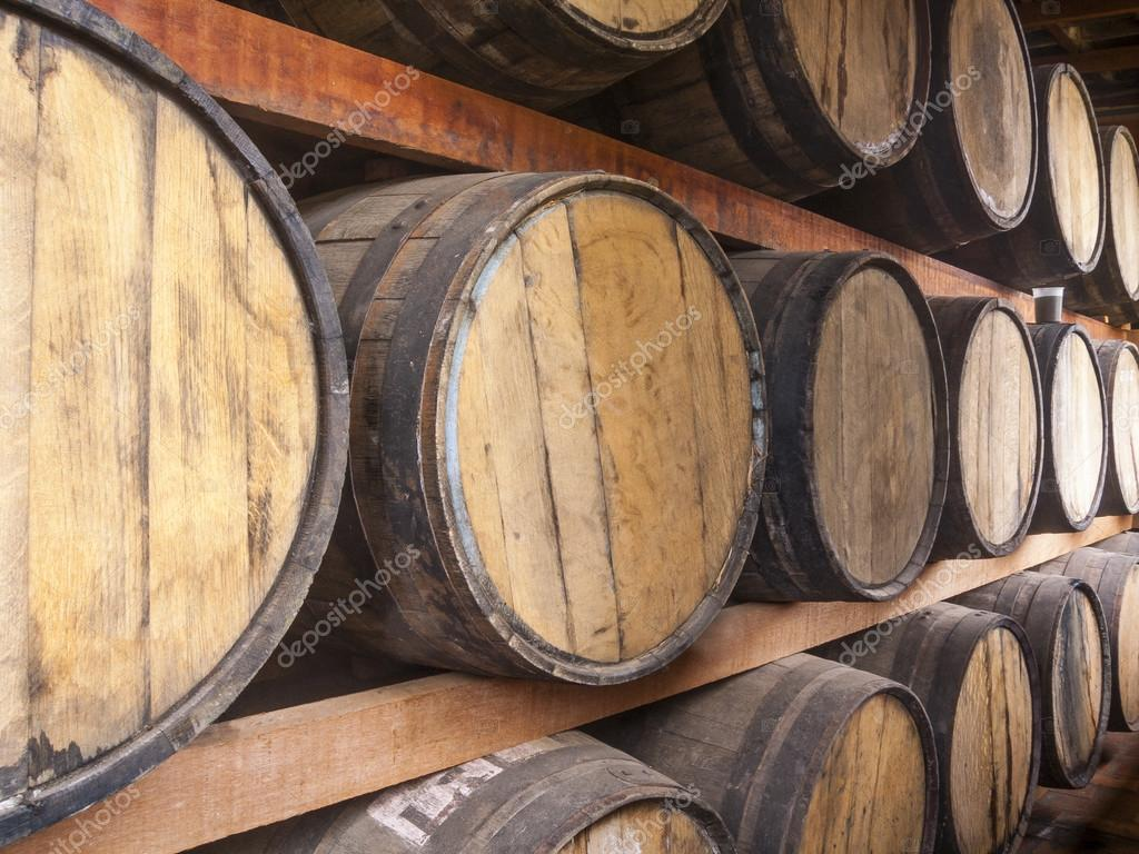 storage oak wine barrels. Oak Barrels Piled For Storing Alcoholic Beverages Such As Wine, Whisky, Rum, And Etc. \u2014 Photo By Lucato Storage Wine