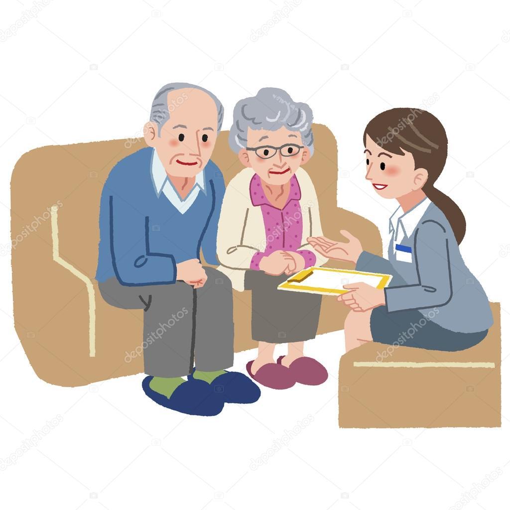 Imágenes Geriatria Animadas Pareja De Ancianos Consultar