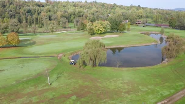 Golf Course Club Aerial View
