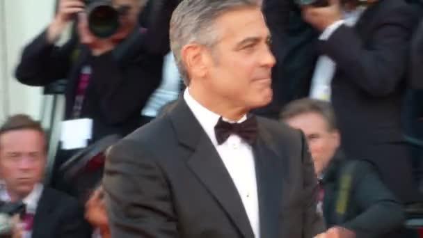 George Clooney Venedig roter Teppich