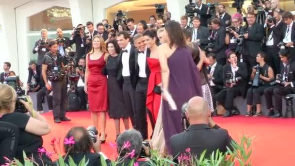 Schwerkraft Ochse Clooney Cuaron Venedig roten Teppich