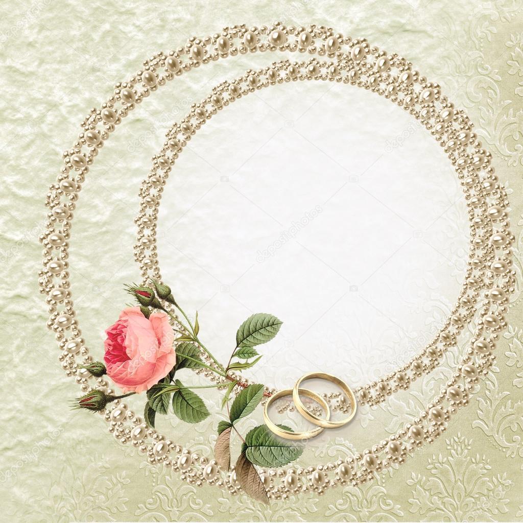 Sfondi Anniversario Di Matrimonio.Sfondo Di Nozze Sfondo Di Matrimonio Con Una Rosa Perle