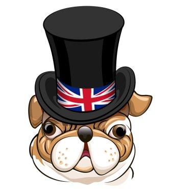 English Bulldog Emblem