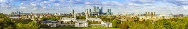 London skyline form Greenwich park