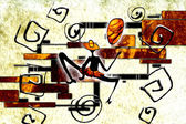 African motive art