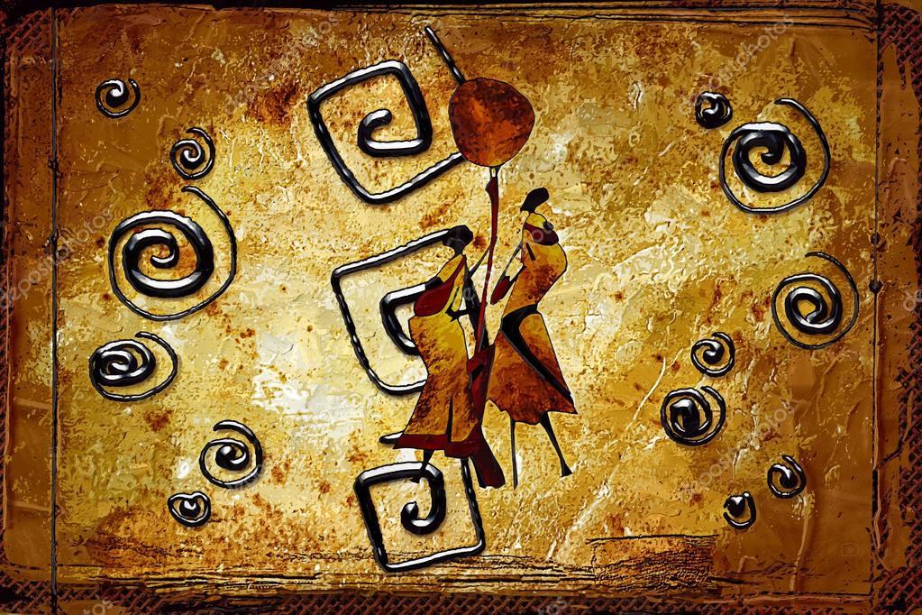 art africain motif